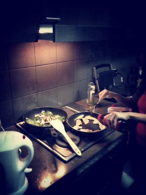 Dumplings & Stir-fry for Dinner