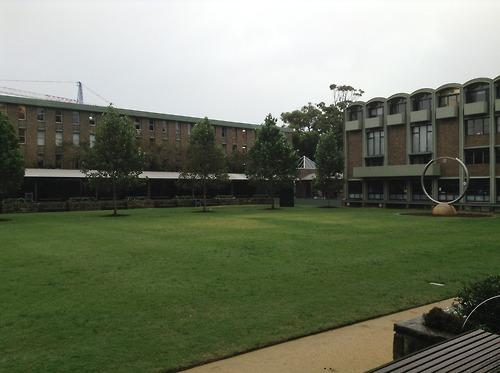 Library Lawn & Stargate