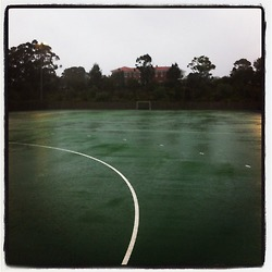Hockey in the rain #2
