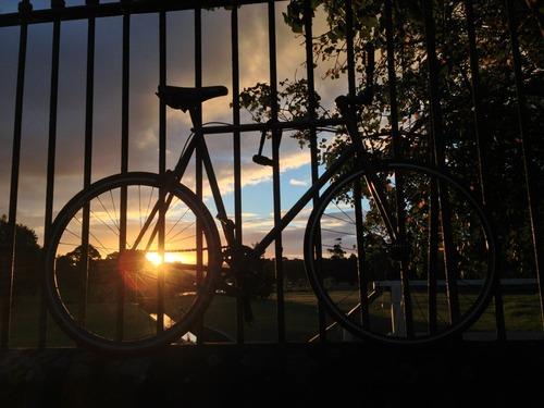 Bike Ride by Sunset