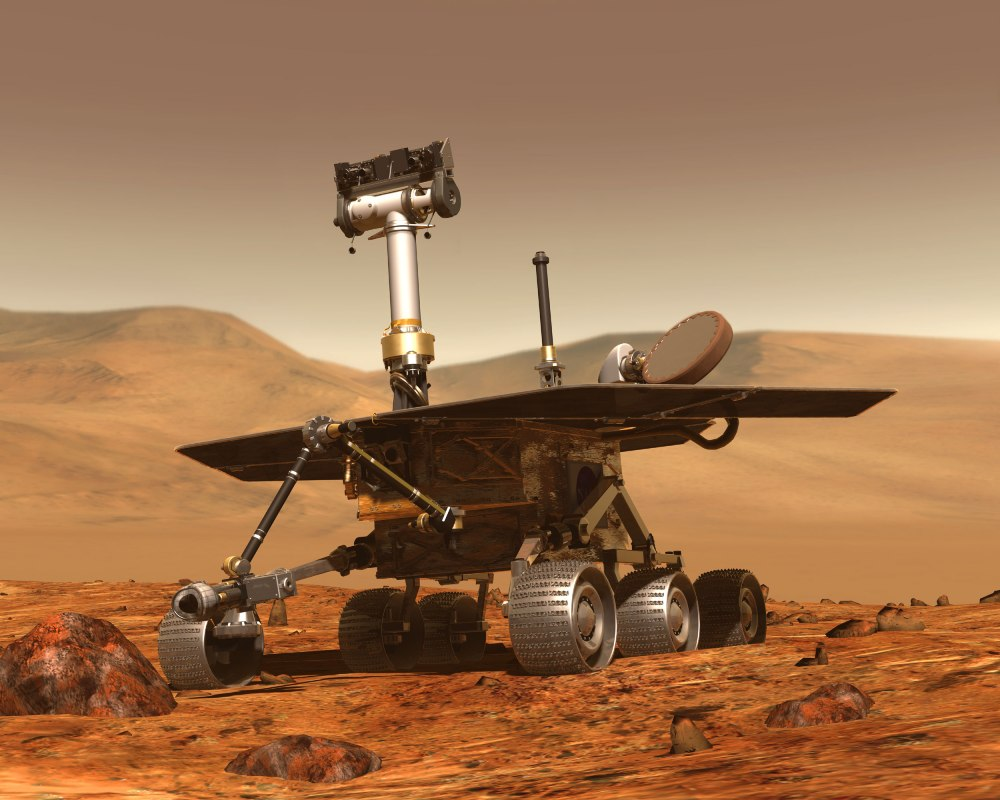 And you get to ride on a Mars Rover!
